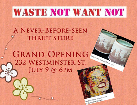 Waste not want not a never before seen thrift store opening in