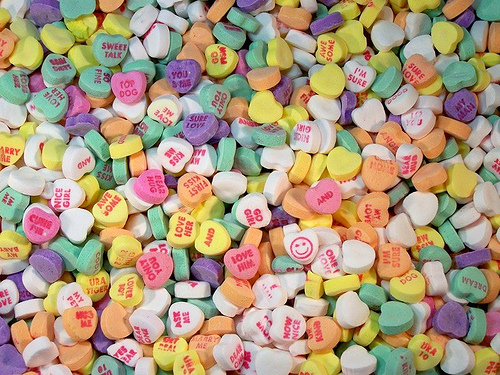 HOLLIE: Erotic Candy Hearts